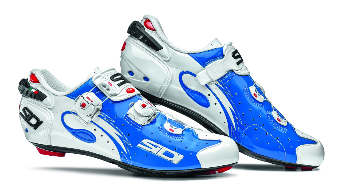Below that is the new Level road shoe , which has the same sole but